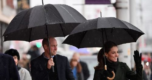 Prince William and Kate Middleton Look Radiant Despite the Rain on Their Visit to Blackpool