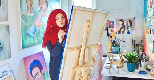 This incredibly inspiring artist is on a mission to celebrate Pakistani women one illustration at a time