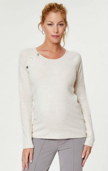 Raglan Snap Maternity & Nursing Sweater
