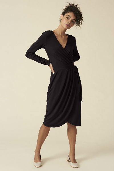 Delia Dress in Black