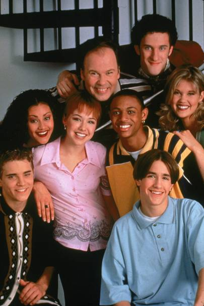 The Saved By The Bell cast reunited 30 years after the show began and they look SO different