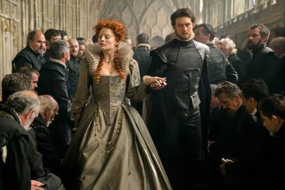 It took THREE hours to turn Margot Robbie into a pox-ridden Queen Elizabeth in Mary Queen of Scots