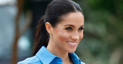 Meghan Markle Wore a Lot of Blue During Her Pregnancy