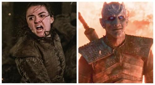 Arya Stark; The Night King