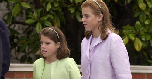 Princess Eugenie and Princess Beatrice Just Want to Know WTF Was in Their Handbags at Age 12