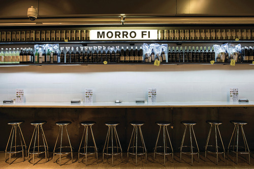 Try the incredible artisanal vermouth at Morro Fi, in a welcoming space designed by CRÜ studio's Clàudia Raurell with Gustavo Paternina.