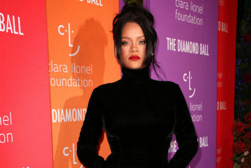 Rihanna Radiated Positivity At The 5th Annual Diamond Ball