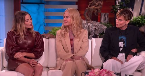 Margot Robbie Almost Saw Charlize Theron Naked When They First Met