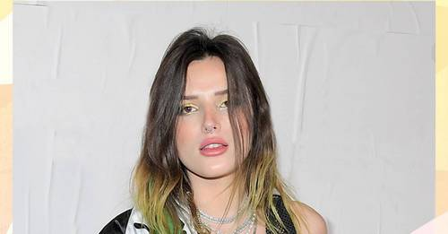 Bella Thorne proudly shares how she was able to grow her hair long again on Instagram