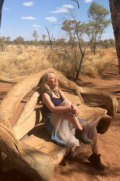 Kylie Minogue on her post break-up trip with her parents
