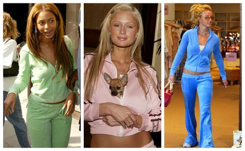 Paris Hilton Has A Closet Full Of Juicy Couture Tracksuits