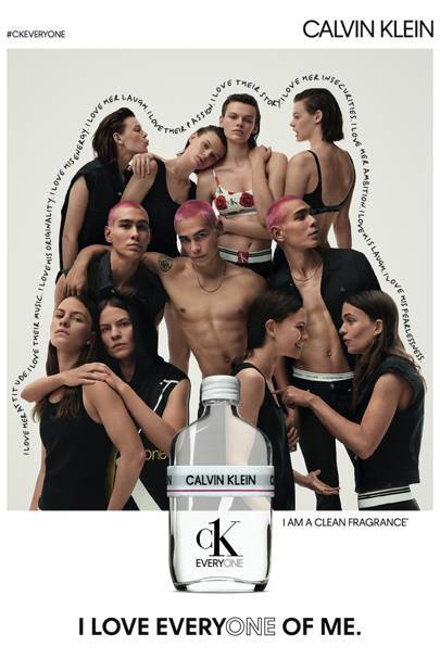 CK's Everyone scent that's designed to appeal to literally everyone