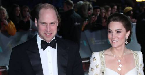 Kate and William joking around on the BAFTA red carpet makes us love them so much more
