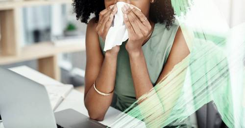 Your allergy medication could be drying out your skin