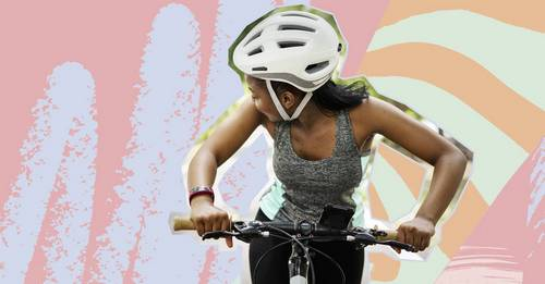 Here are 11 of the best cycling helmets for women that are protective *and* stylish