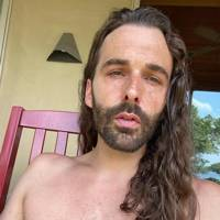 Jonathan Van Ness revealed his secret for perfect air-dried waves