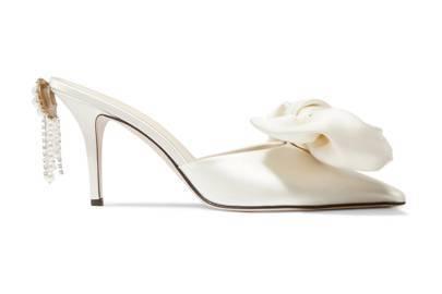 Silk-Satin Mules, £750, Magda Butrym