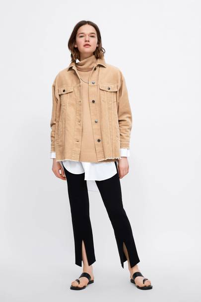 The Zara jacket that no one could get their hands, on last season is back, in 3 new colours