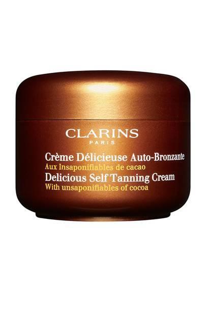 Delicious Self Tanning Cream, £25, Clarins