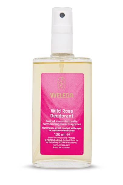 Wild Rose Deodorant, £13.95 for 100ml, Weleda