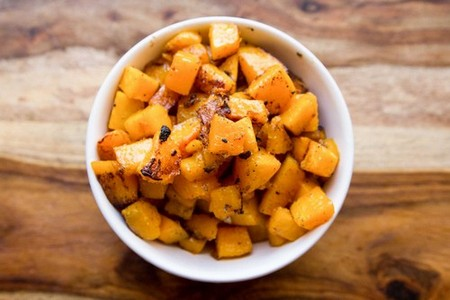 Harvest Salad with Miso-Maple Roasted Butternut Squash