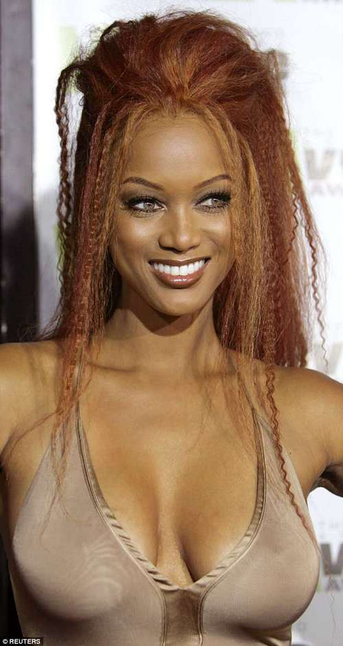 Women with large bust sizes, like Tyra Banks, score around 10 points higher on IQ tests