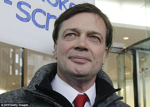 The disease is 70 per cent caused by vaccines, it is claimed, although similar claims by British doctor Andrew Wakefield (pictured) in 1998 have been totally discredited