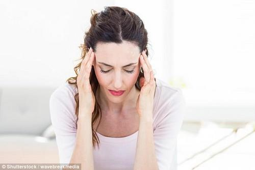 Migraines affect around one in seven people, who are forced to try everything from lying down in a dark room for hours to being sick and taking painkillers to relieve their agony (stock)