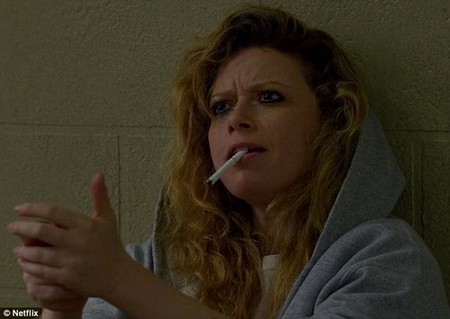 Orange is The New Black came in second with 45 scenes of tobacco use