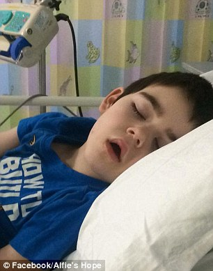 'Beloved' boy Alfie Dingley has been rushed back to hospital for emergency treatment