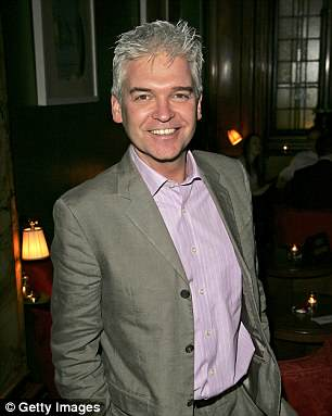 TV presenter Philip Schofield has said he first started going grey at 16