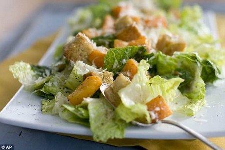 Romaine lettuce - commonly used in Caesar and other salads - carrying a dangerous strain of E. coli has sickened 98 people and led to kidney failure in 10 of them, the CDC revealed