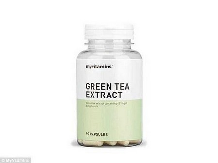 Green tea extract is packed with antioxidants, which can help boost metabolism.www.myvitamins.com