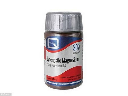 Magnesium is good for sleep and PMS. www.victoriahealth.com