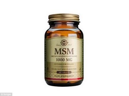 MSM helps to repair hair and cartilage.www.solgaronline.co.uk