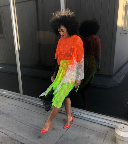 Wow, We Can't Believe Tracee Ellis Ross Invented Day-Glo