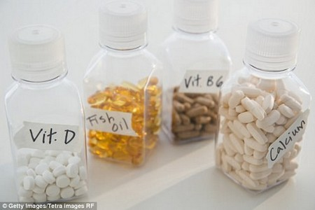 Most single vitamin supplements are sold in doses far higher than what