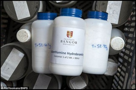 In 2012, he created Agroceutical, a bio-research firm with a licence to produce 40kg (88lbs) of the compound in powder and crystal form each year