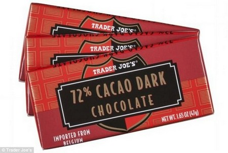 New research suggests that indulging in a bar of 72 percent dark chocolate can significantly improve two of the main markers of vision, contrast sensitivity and visual acuity