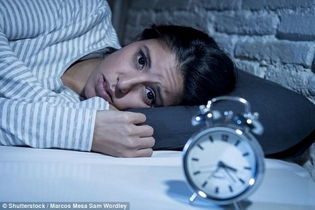 Depressed people are more likely to have suicidal thoughts after a bad night's sleep (stock)