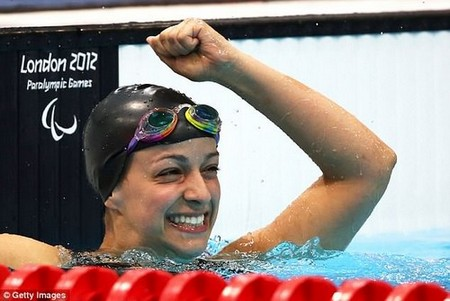 Two years after she came out of the vegetative state Victoria swam her way to four medals at the 2012 Paralympic Games in London