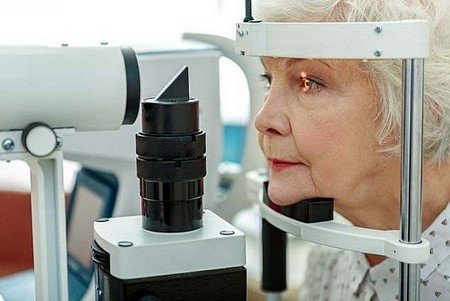 A pioneering eye patch improves vision in people with severe age-related sight loss (stock)
