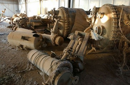 Remnants of Iraq's chemical weapons program