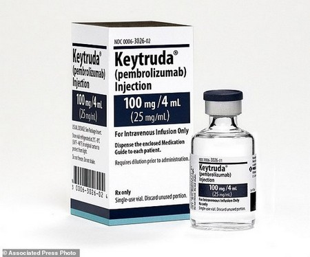 Using Merck's Keytruda with usual chemotherapy extended survival for people newly diagnosed with the most common type of cancer that had spread beyond the lungs