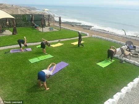 In addition to administering the psychedelic drug, the Ibogaine Institute provides its clients with counseling and activities like yoga