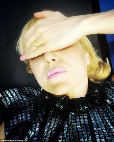 Pop star Paloma Faith has also shared a selfie in support of the campaign, posting 'I'm with @jamieoliver'