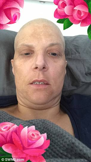 Leanne Crawley, 38, was diagnosed with a rare and fast-growing cancer