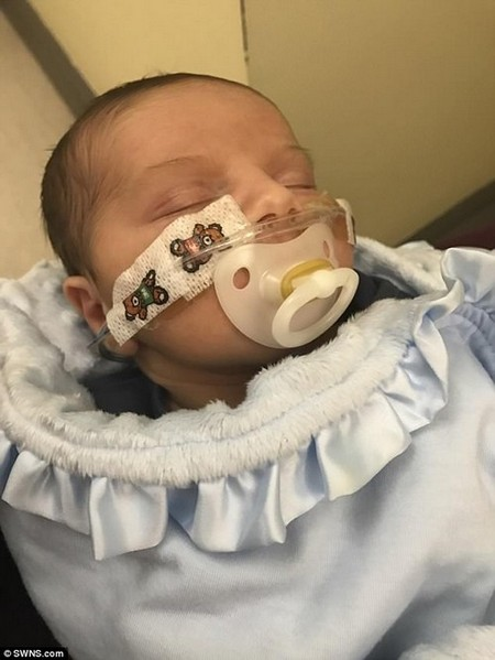 Doctors discovered baby Louee had been 'hiding' a second molar pregnancy, which was then removed - but left behind a rare and fast growing cancer