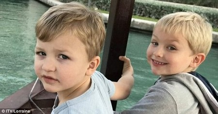 Sami (pictured with his brother Alex) was rushed to hospital, where doctors discovered he had all the classic signs of meningitis C