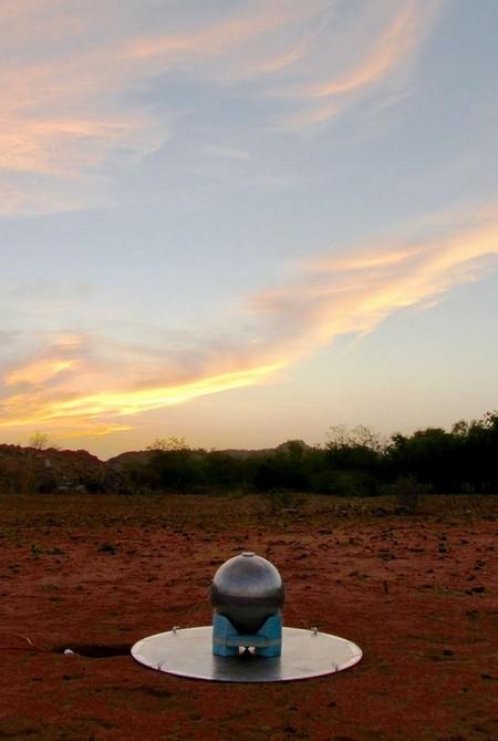 SARAS 2 antenna at Timbaktu